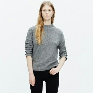 Madewell | Boxy pullover sweater mock neck